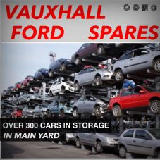 FORD   USED  PARTS   SPARES IN YARD STORAGE   1998 -  2018